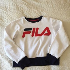 FILA Sweatshirt Top